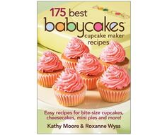 Great recipes -you can even use the cupcake maker to make appetizers.