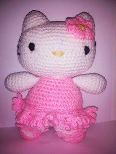 (Hello) Kitty Dancer amigurumi  - Se ti piacciono chiedi informazioni a pepiscrochet@gmail.com