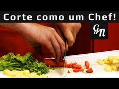 N maneiras de cortar como um chef de cozinha - YouTube