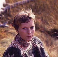 Mia Farrow: photos by Milton H. Greene