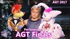 Liked on YouTube: Finals Darci Lynne Puppet Duet With A Little Help From My Friends Americas Got