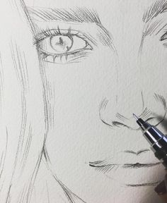 Amazing Learn To Draw Eyes Ideas. Astounding Learn To Draw Eyes Ideas. Girly Drawings, Pencil Art Drawings, Art Drawings Sketches, Tumblr Sketches, Amazing Drawings, Beautiful Drawings, Amazing Art, Sketches Of People, Drawing People