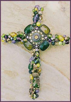 Beaded Cross
