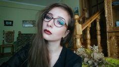 Dramatic Fall Makeup Look for Glasses • Jasminum