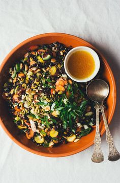 Carrot and Sake Salad from Near and Far | http://fromthelandweliveon.com