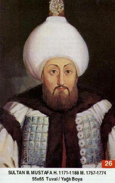 Osmanlı İmparatorluğu SULTAN MUSTAFA HAN (3) Babası.................... : Üçüncü Ahmed Han Annesi.................... : Mihrişâh Sultan Doğumu.................. : 28 Ocak 1717 Vefâtı...................... : 21 Ocak 1774.