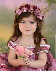 Precious Children, Beautiful Children, Beautiful Babies, Beautiful Flowers, Little Babies, Cute Babies, Little Girls, Baby Kids, Cute Baby Girl
