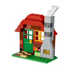 LEGO Building Tutorials   LEGO Activities   Pinterest   Lego     Learn how to build a cozy cabin in the woods with easy  free building  instructions from LEGO     Classic and the 10695 LEGO     Creative Building Box