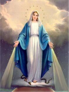Imagem de Nossa Senhora das Graças - Significado e Simbolos - Nossa Sagrada Família