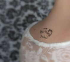 This might need to happen for the bachelorette party! haha temporary tattoos =)
