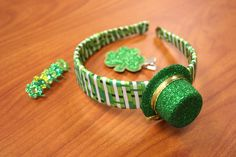 Cute and easy little St. Patrick's Day ideas that will prevent you from getting pinched :)