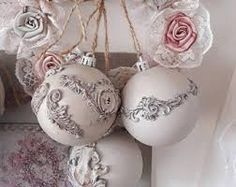 Image result for vintage string christmas peach bulbs