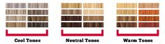 blond colors for neutral skin tones | Cool tones have undertones of blues and greens, and are sometimes ...