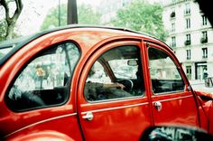 2 CV | tumblr | instagram - Paris - Cross-Processed Fuji Provia 100 F | Leica CL