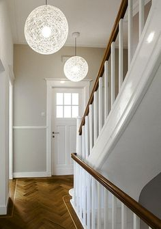 Kantoor in monumentaal pand Staircase Railings, Stairs, Fairytale House, Entry Hallway, New England Style, House Inside, House Entrance, My Dream Home, Home And Living