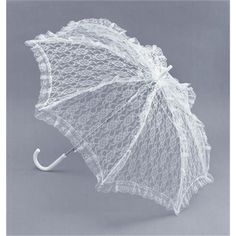 ladies white lace parasol fancy dress umbrella victorian in Clothes, Shoes & Accessories, Fancy Dress & Period Costume, Accessories Fancy Umbrella, Umbrella Wedding, Vintage Umbrella, Clear Umbrella, Lace Parasol, Lace Weave, Umbrellas Parasols, White Brand, Costume Accessories