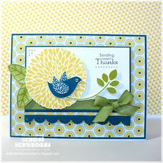 Two Happy Stampers: Betsy's Blossoms