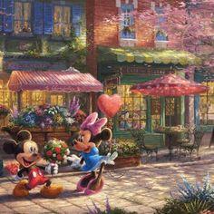 Mickey and Minnie – Sweetheart Café