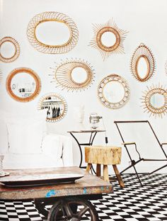 Summertime Style : Decorating with Rattan — The Decorista