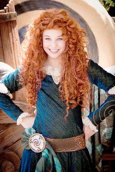 """Merida, from """"Brave"""". By hook or by crook, I'm growing my hair to look like hers."""