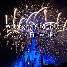 Bucket list: Travel to a Disney resort to watch the Cinderella Castle fireworks show!  I've done this!!!!