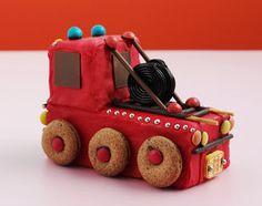 Geburtstagskuchen Feuerwehrauto LE MENU