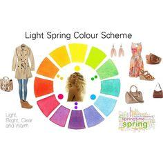 """Light Spring Color Scheme"" by katestevens on Polyvore"