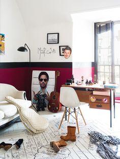 Appartement de la décoratrice Sarah Lavoine