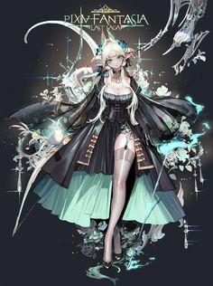 Pixiv Fantasia: Last Saga - Pixiv Fantasia Series - Mobile Wallpaper - Zerochan Anime Image Board Anime Neko, Anime Manga, Anime Art, Fantasy Characters, Female Characters, Anime Characters, Game Character, Character Concept, Concept Art