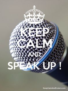 KEEP CALM AND SPEAK UP! #Tips for speaking up >> http://www.levo.com/articles/career-advice/who-gets-heard-at-work-and-why