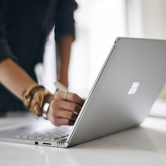 Surface Book 2 is the most powerful Surface laptop ever; built with power and versatility to be a laptop, tablet, and portable studio all-in-one. New Surface, Surface Laptop, Cool Tech Gadgets, New Gadgets, Office Gadgets, Electronics Gadgets, Microsoft Surface Book, Hp Spectre, Lead The Way
