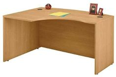 "Left L-Bow Desk . $309.00. Measures 58-7/8""W x 42-7/8""D x 29-7/8""H overall. Shpg. wt. 127 lbs. PRICE INCLUDES FREIGHT!"