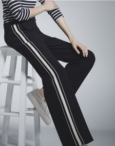 Get Sporty: the grown-up way to wear track pants - That's Not My Age