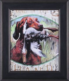 One In Hand by Jared Kelley Framed Painting Print