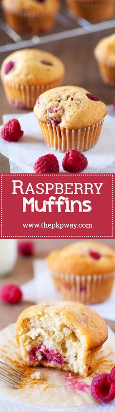 Game-changing raspberry muffins. These raspberry muffins have a special ingredient that amplifies the raspberry flavor and intensifies the sweet muffin aroma.
