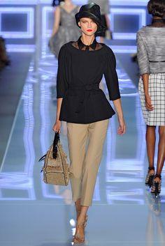 Christian Dior Spring 2012 Ready-to-Wear Fashion Show - Kasia Struss (Women)