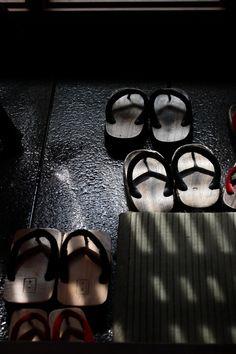Japanese wooden clogs, Geta 下駄