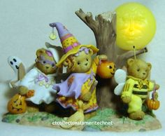 Cherished Teddies Raeven Toby and Immy