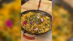 Spicy Spaghetti, Lemon Spaghetti, How To Make Spaghetti, Spaghetti Recipes, How To Cook Pasta, Pasta Recipes, Veg Recipes, Fennel Pollen, Fennel Seeds