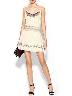 Ark & Co. Embroidered Slip Dress | Piperlime
