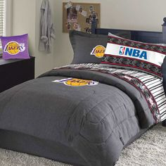 Lakers Bed Set Under In Stock Ready To Ship Gifts Nba Items In