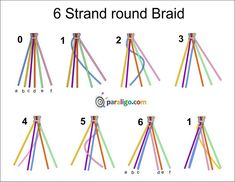 6 String Braid - Borbotta.com