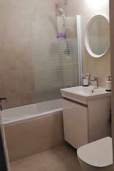 """De ce sa aleg baie cu Microciment """"fără imbinari""""? ⠀ 🌀… presupune absența completă a rosturilor la montare ⠀ 🌀… impiedică acumularea de murdărie, umiditate și mucegai, cum de obicei apare in locuri de îmbinare ⠀  #microciment Alcove, Bathtub, Bathroom, Modern, Standing Bath, Washroom, Bathtubs, Trendy Tree, Bath Tube"""