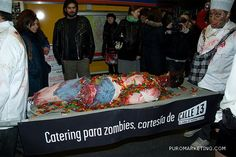 Catering para zombies. Calle 13