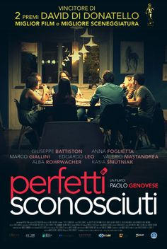 #PerfettiSconosciuti, #PerfectStrangers. 完美陌生人 Exciting movie!!