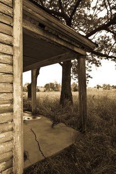 Sepia, Old Farm House...Missouri