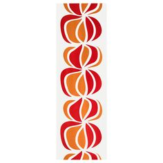 ULLASTINA Panel curtain - IKEA. Goes with our orange and white couch!