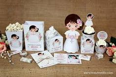 Resultado de imagen de kit imprimibles de primera comunion First Communion, Baby Gifts, Place Card Holders, Party, Cute, Crafts, Wedding, Design, Sacramento