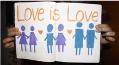 Love is love, equality in love is human rights