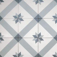 Small Norwegian Star - Tiles from Historiske Fliser